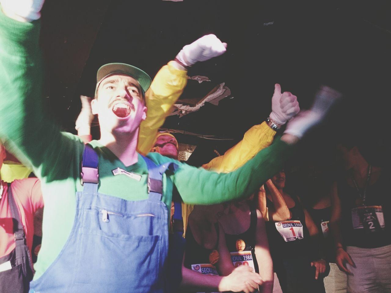 Super Mario Bros celebrating Movember. Show Us Your Mo By Movember