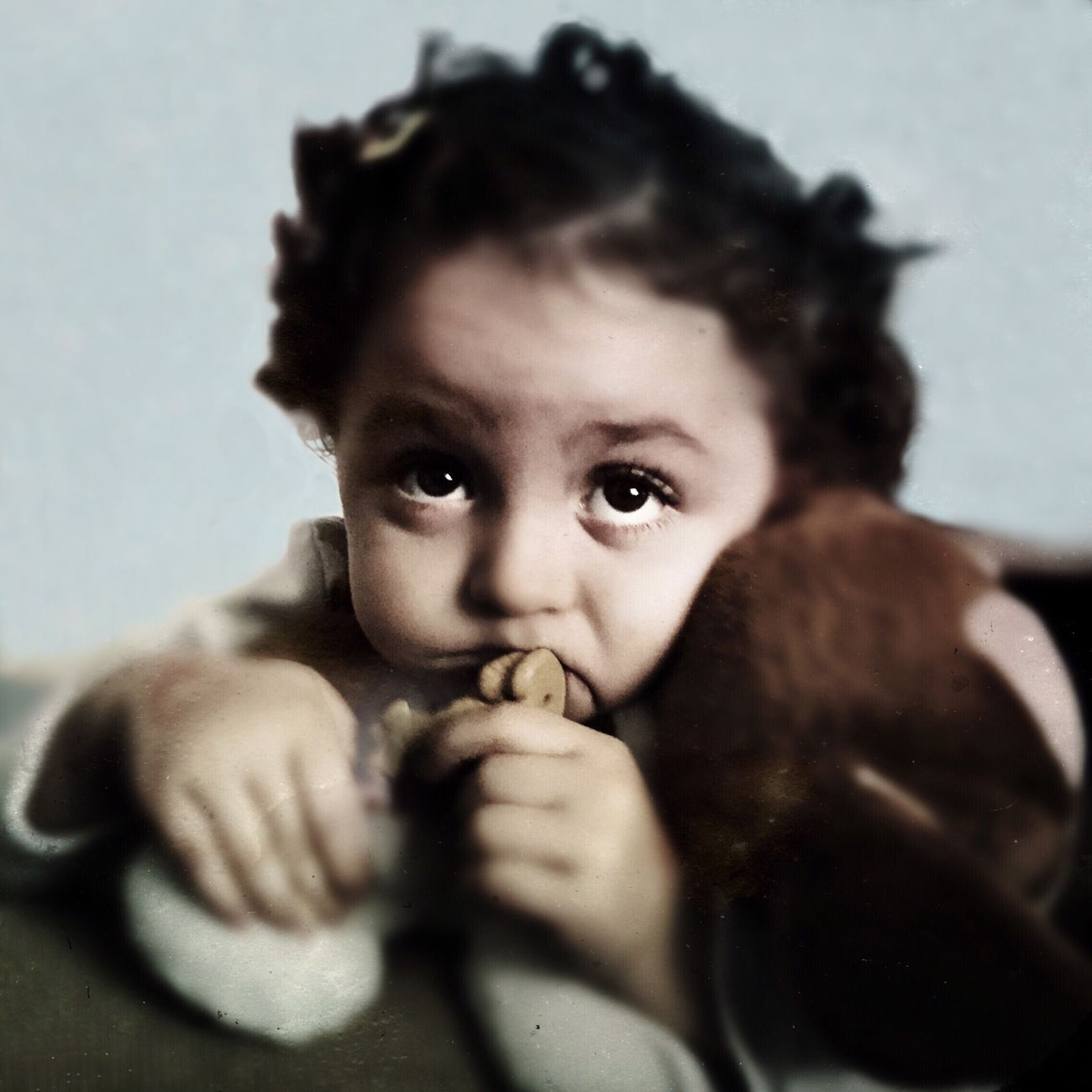 Clara, my nephew Hipstamatic IPhoneography EyeEm Best Shots Iphoneonly Mobilephotography Youmobile
