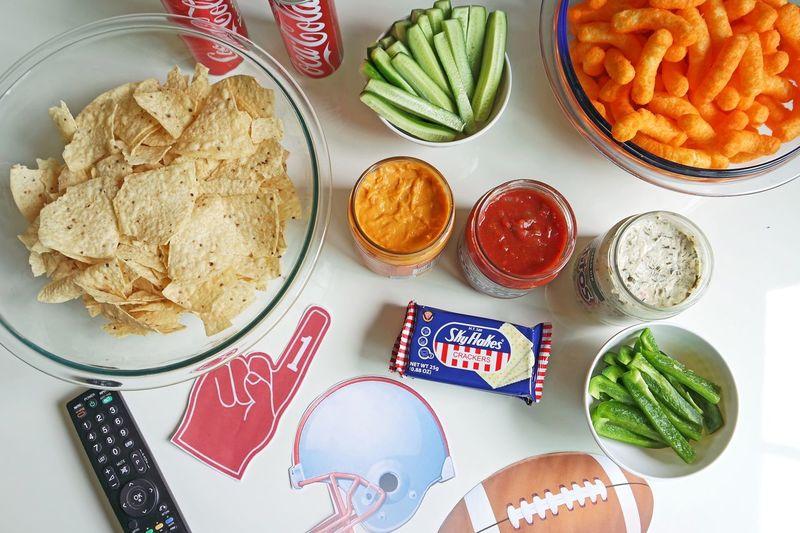 Visual Feast Super Bowl