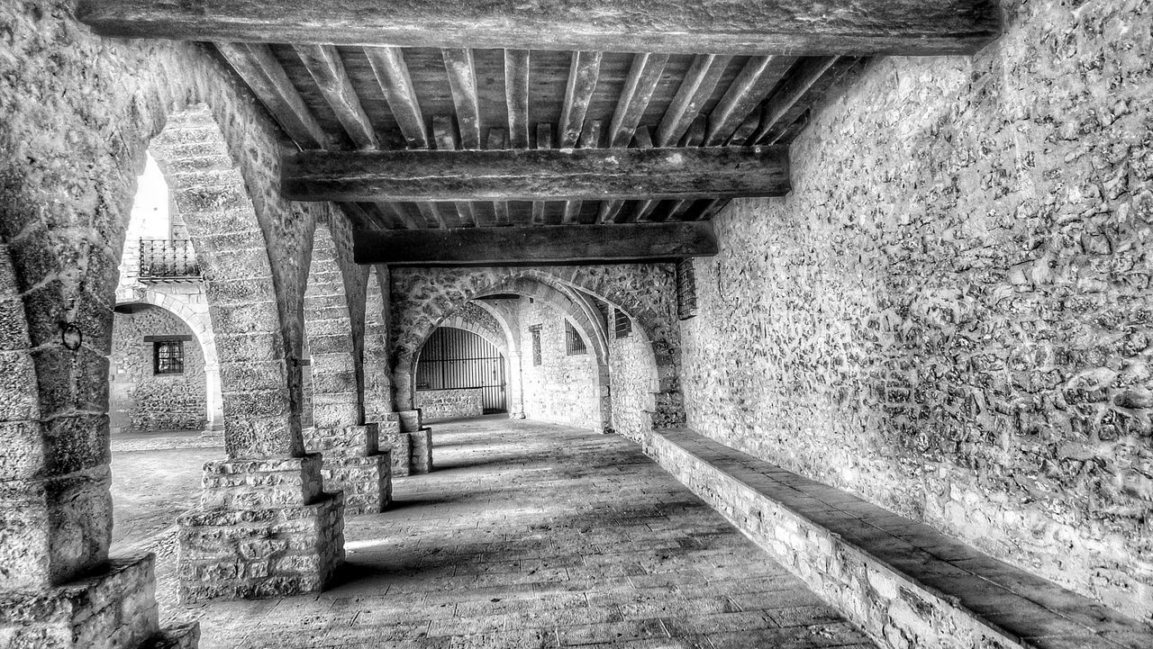 Architecture The Way Forward Indoors  Day No People Ancient Ancient Architecture Built Structure Ancient Town Ancient History Black & White Structure Structures And Architecture