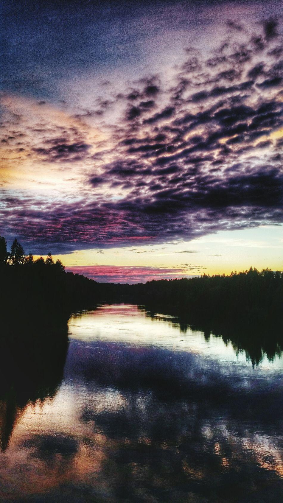 Nature Photography Sunset Nortern Europe Sweden