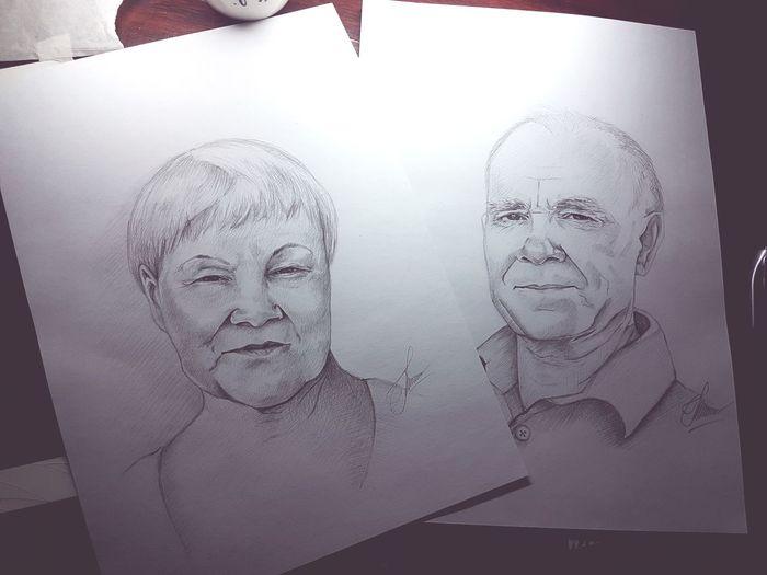Заказ на портреты People Portrait My Life Drawings Like Followme Follow иллюстрация Drawing рисунок карандашом Art One Person Only Men Paper Russia Day Love
