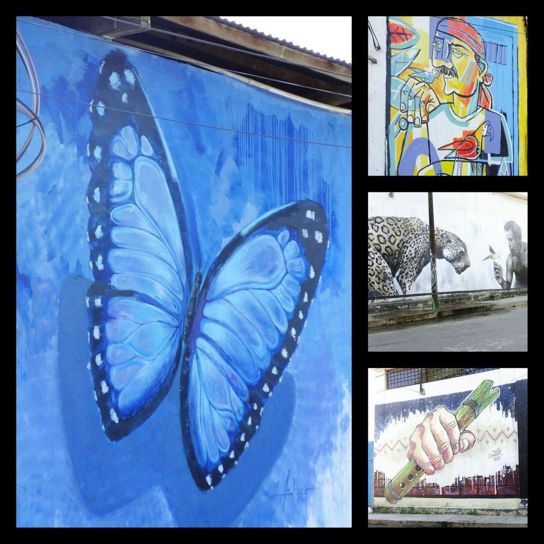 Urban Art Tarapoto -Peru Vacation Time 😀