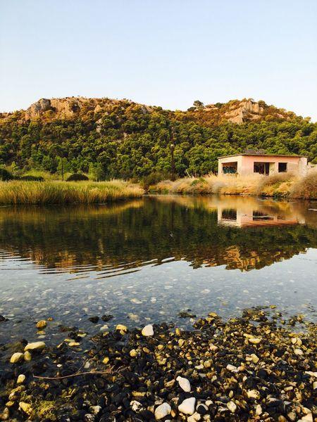 Greece Beauty Clear Sky Water Lake Fresh On Eyeem