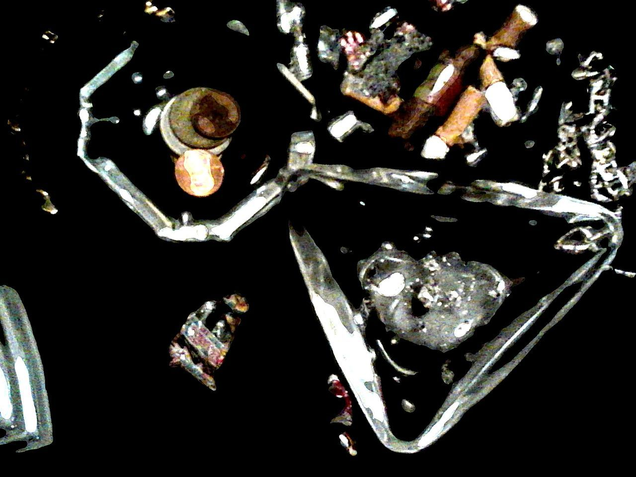 Titled: THE MA|D CAME TOO DAMNED EARLY. Detail Abstract Abstract Photography Abstract Art Abstractart Abstractions Abstractporn Abstraction Abstractphotography Miscellaneous  Everyday Objects Everyday Things Things Garbage Cleaning Cleaning Up! Cleaning Up The Mess After The Party After The Party After The Party . After The Party . Ashtrays Ashtray  Trash Trashed