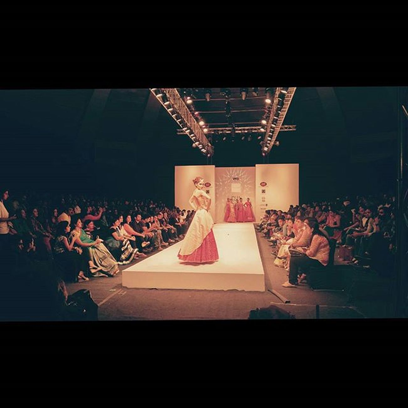 It's seasons' finale. India Runway Week. IFFD IRW Talkatorastadium Fashion Newdelhi Mindtwisterfilms