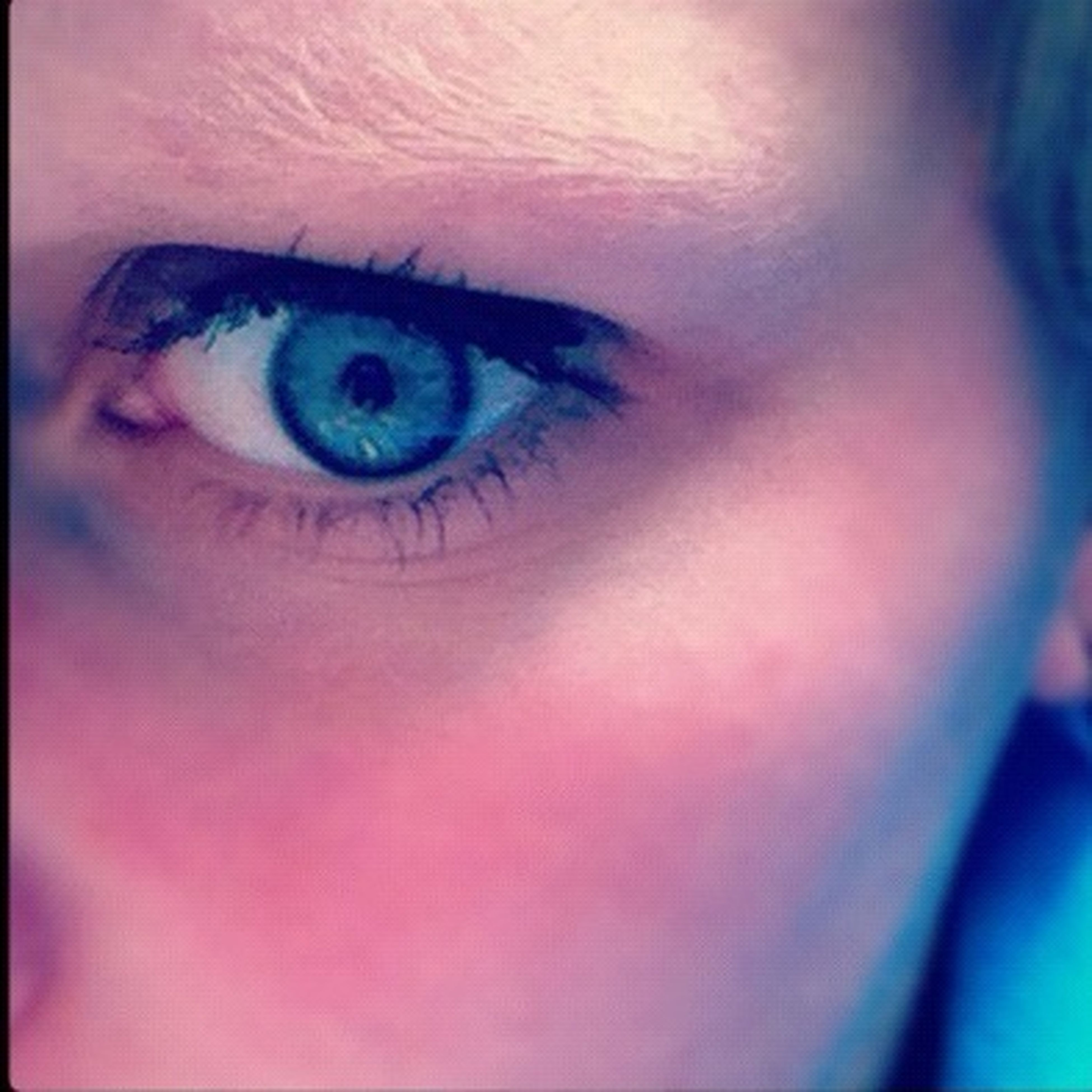 indoors, close-up, human eye, human face, lifestyles, looking at camera, headshot, young adult, portrait, human skin, part of, auto post production filter, person, leisure activity, front view, eyesight, young women