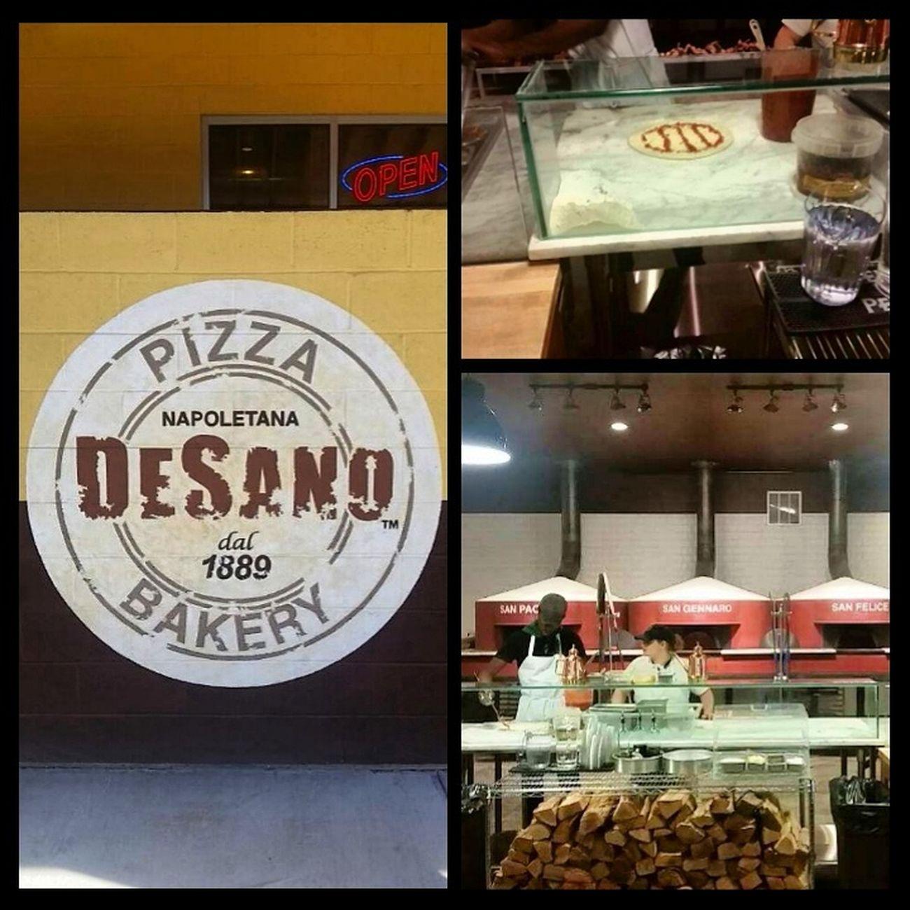 Sum of the best pizza n Charleston DeSano Pizza Bakery