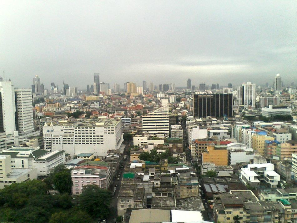 View From 22fl. Bangkok Thailand.