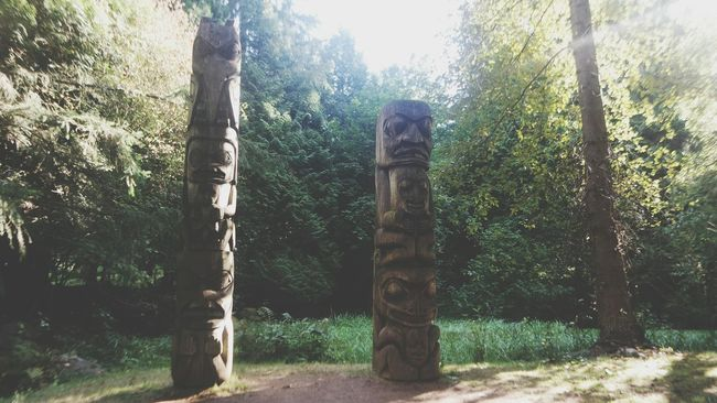 Totem Pole Breath Summer Nature Relaxation Islandlife Nature Photography Trees North America Trees And Bushes