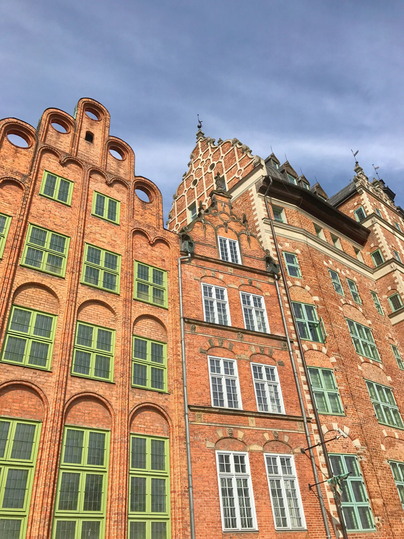 Architecture Sky Building Exterior Built Structure Low Angle View No People Outdoors Day Gdansk Poland Gdansk