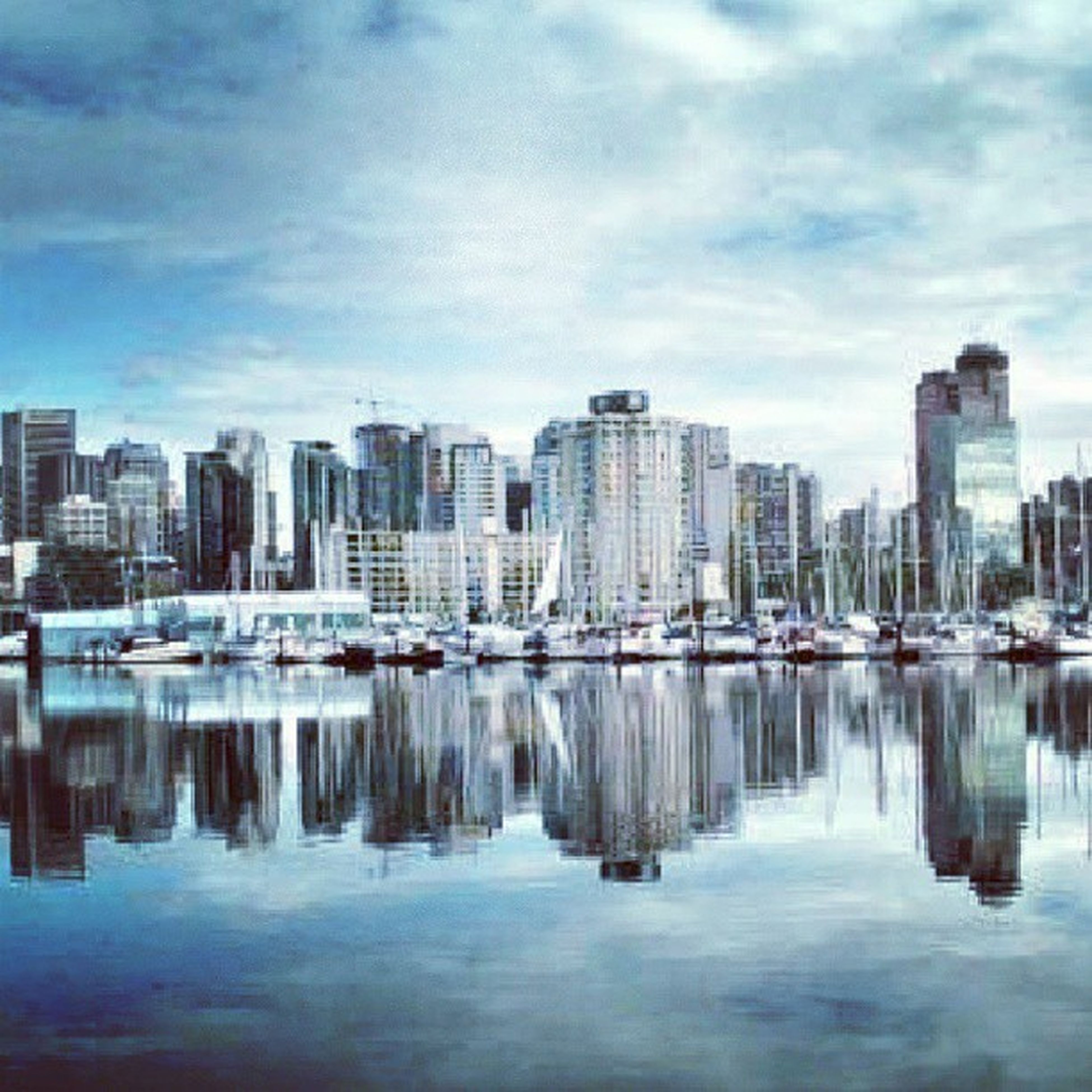 building exterior, architecture, water, city, built structure, waterfront, skyscraper, reflection, sky, cityscape, river, modern, office building, urban skyline, cloud - sky, tall - high, tower, lake, cloud, financial district