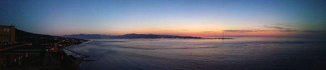 Altafiumara Straitofmessina Sunset OverviewPoint