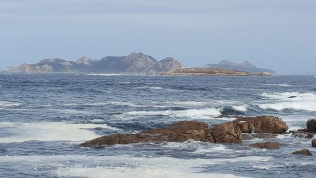 Cies Islands Beauty In Nature Rock Formation
