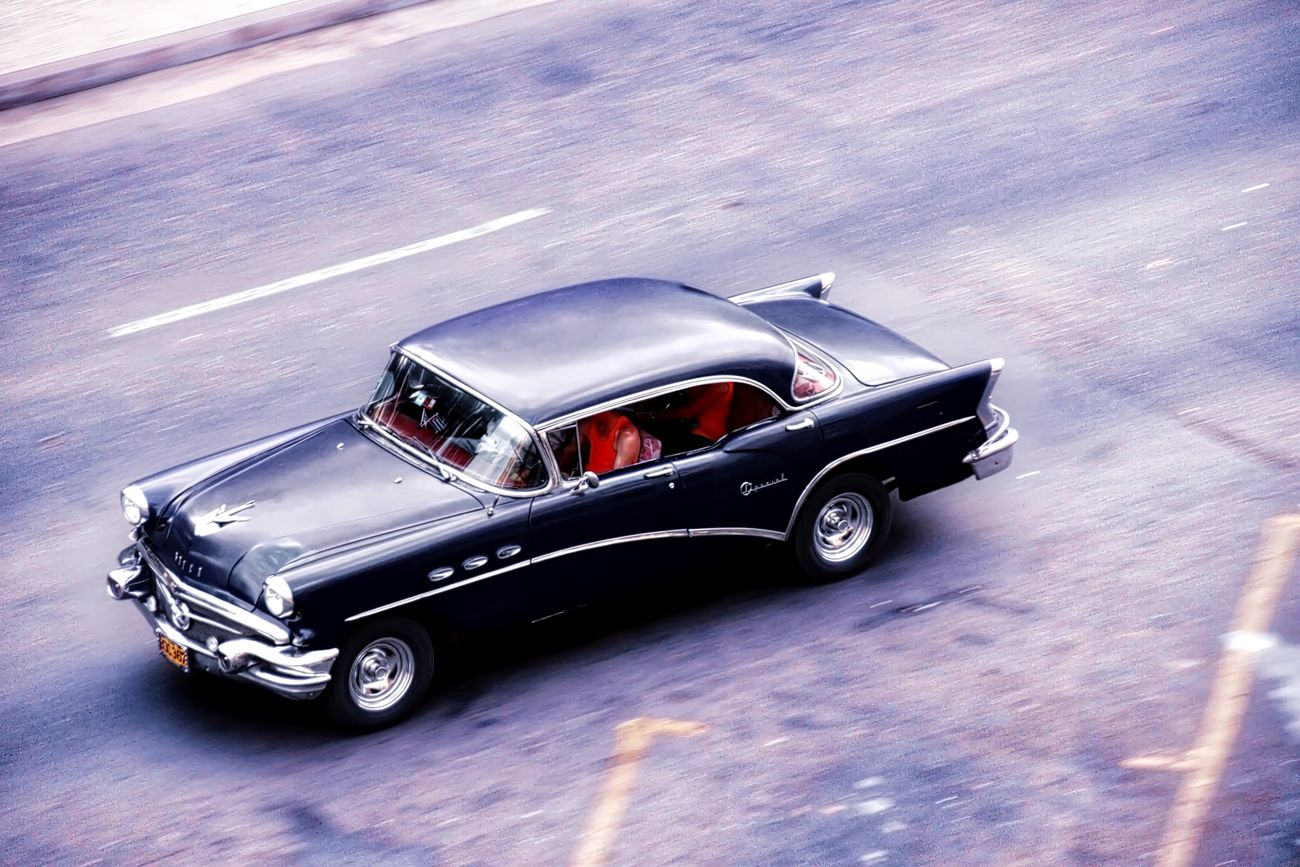 Classic American car driving through Havana Auto Racing Car Close-up Competition Competitive Sport Day Formula One Racing Motor Racing Track Motorsport No People Outdoors Racecar Speed Sport Sports Race Sports Track