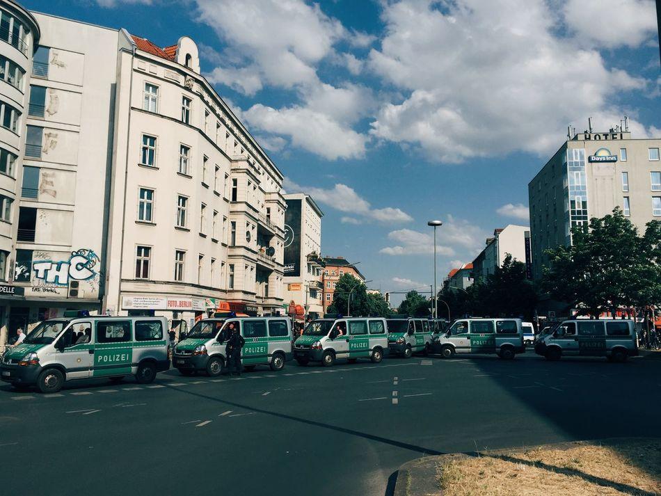 Beautiful stock photos of police, Architecture, Authority, Berlin, Blockade