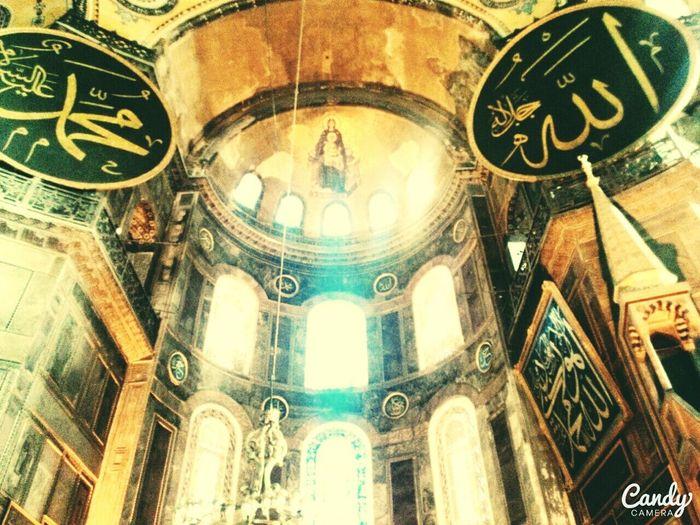 Ayasofya (Hagia Sophia) Istanbul Turkey Bizans Mimarisi Büyüleyici Hz İsa