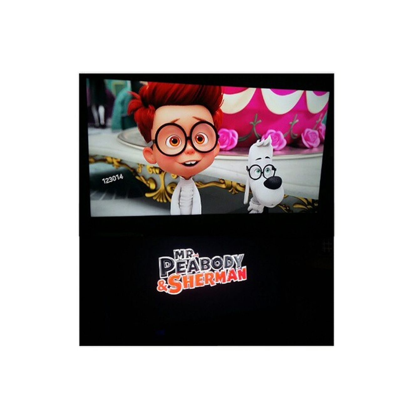 "now watching ""Mr. Peabody & Sherman"" BoredEh Nicemov ☺"