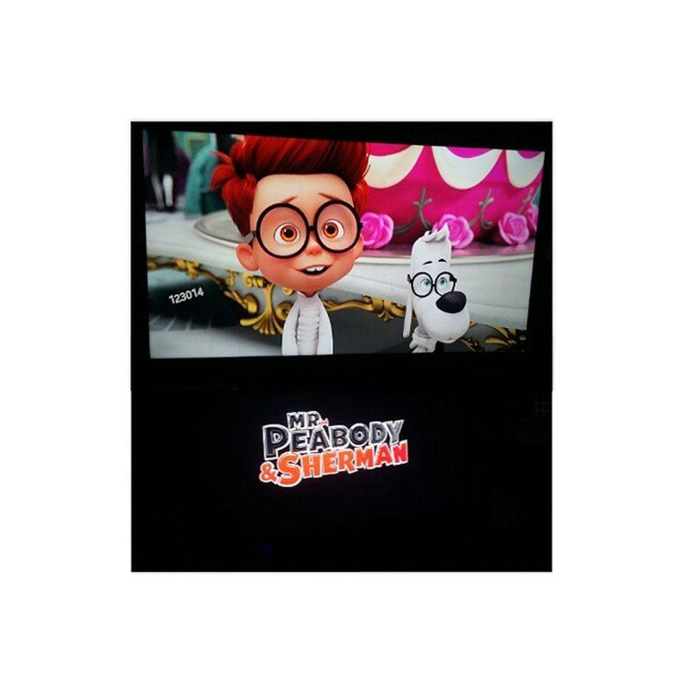 "now watching ""Mr. Peabody & Sherman"" BoredEh Nicemov ☺"