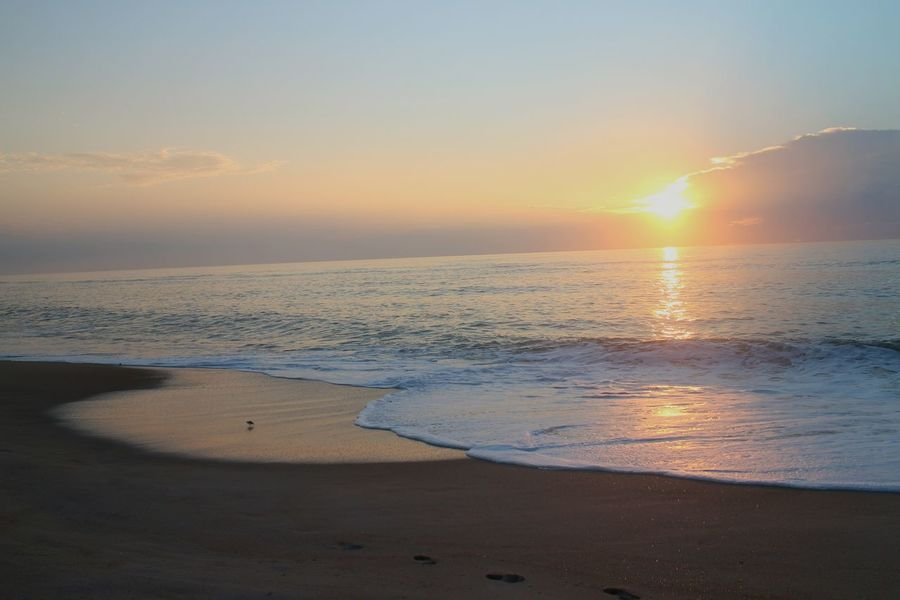 Protecting Where We Play Sky North Carolina Outer Banks, NC Beach Ocean Water Sunrise