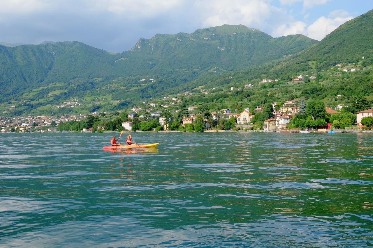 Beauty In Nature Cloud Cloud - Sky Day Floating Piers Fujifilm Growth Hill Idyllic Lago D'Iseo Landscape Mountain Mountain Range Nature Non-urban Scene Outdoors Remote Rippled Scenics Sky Tourism Tranquil Scene Tranquility Travel Destinations Water
