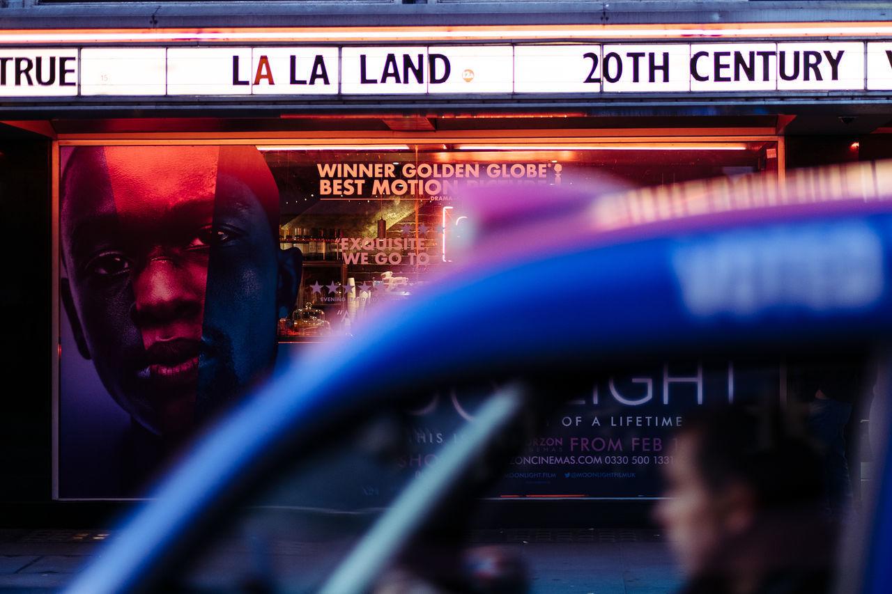 Cinema Cinematic City London Moonlight Neon Night Night Lights Sign