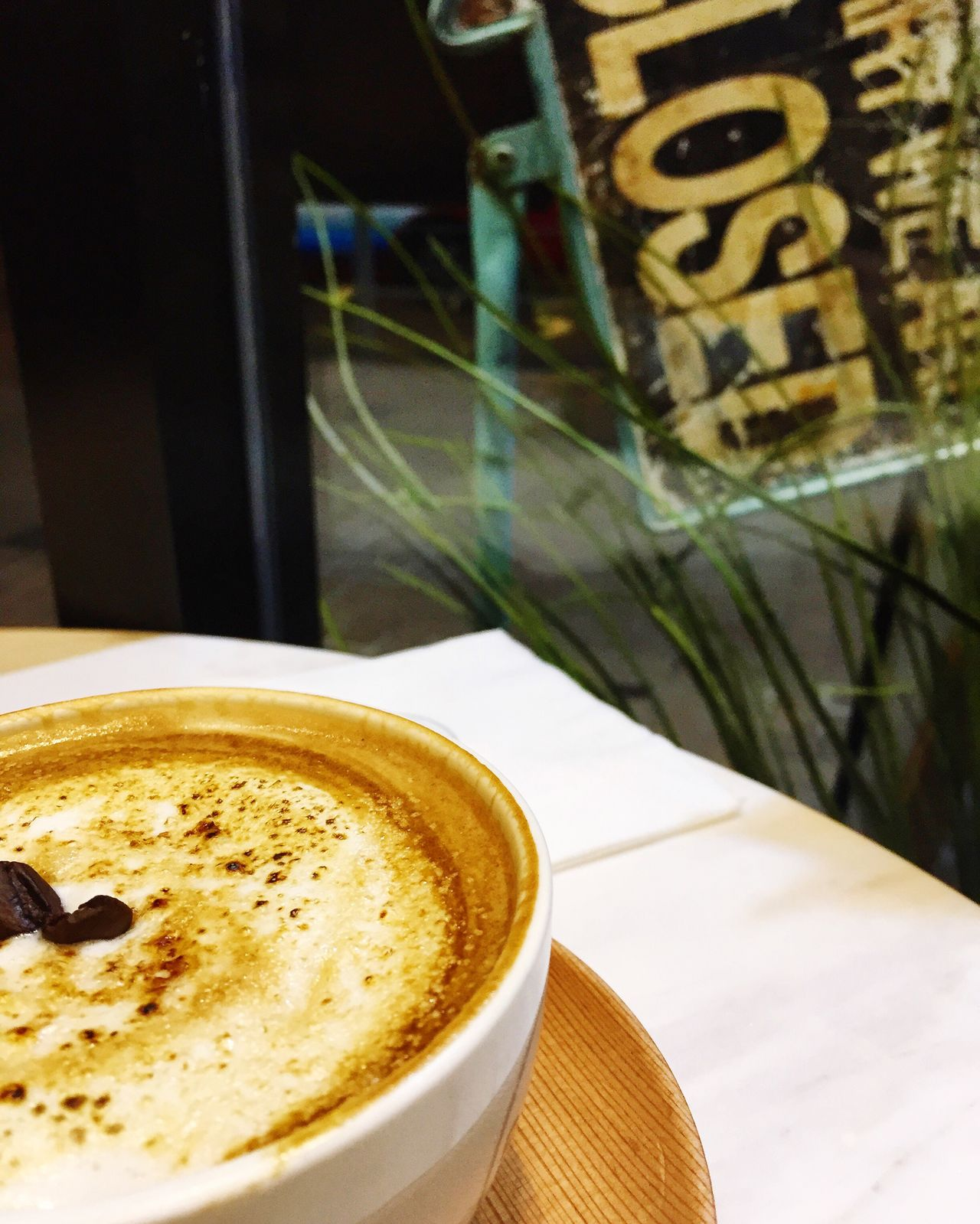 Coffee Break Closed Shut Down Mindful Self