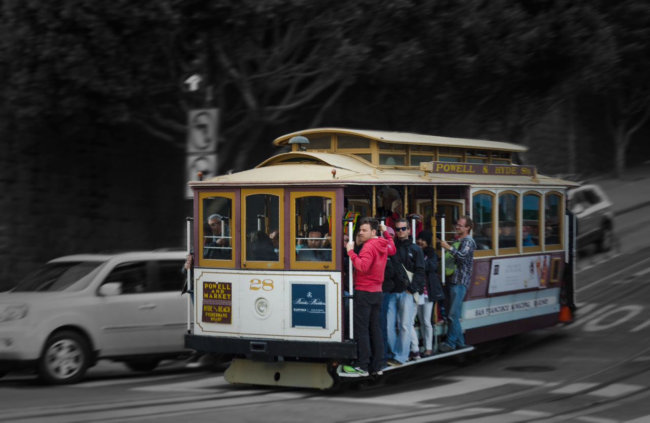 Adult Cable Car Day Education Mode Of Transport Old Fashioned Old Style Outdoors People Public Transportation Tram Transportation Women