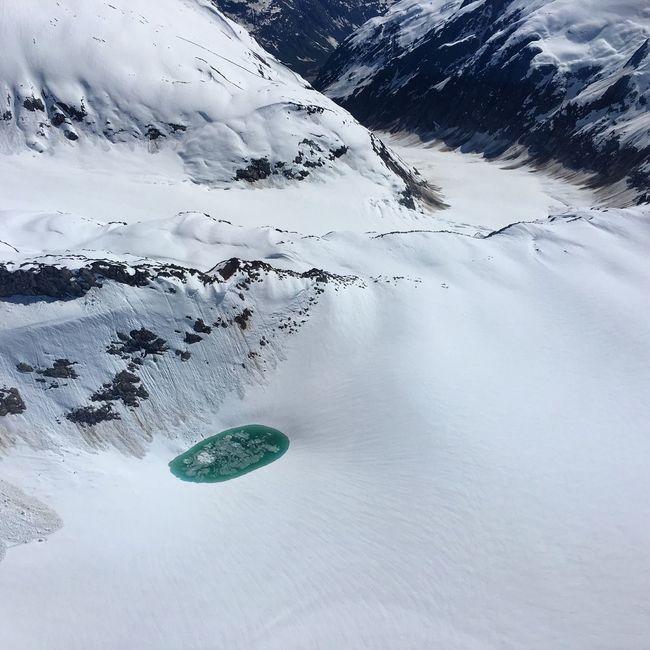 Glacier Water Pool Alaska Skagway