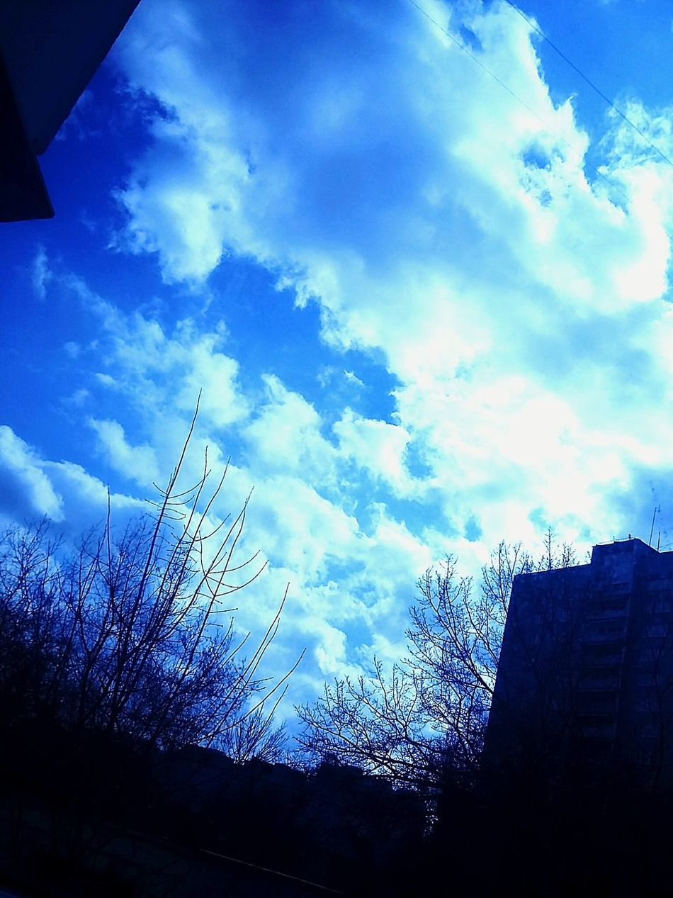 небо⛅️ Мир прекрасен Day Nature Sky Cloud - Sky No People Silhouette Low Angle View Dramatic Sky Sunset Outdoors Storm Cloud Beauty In Nature First Eyeem Photo