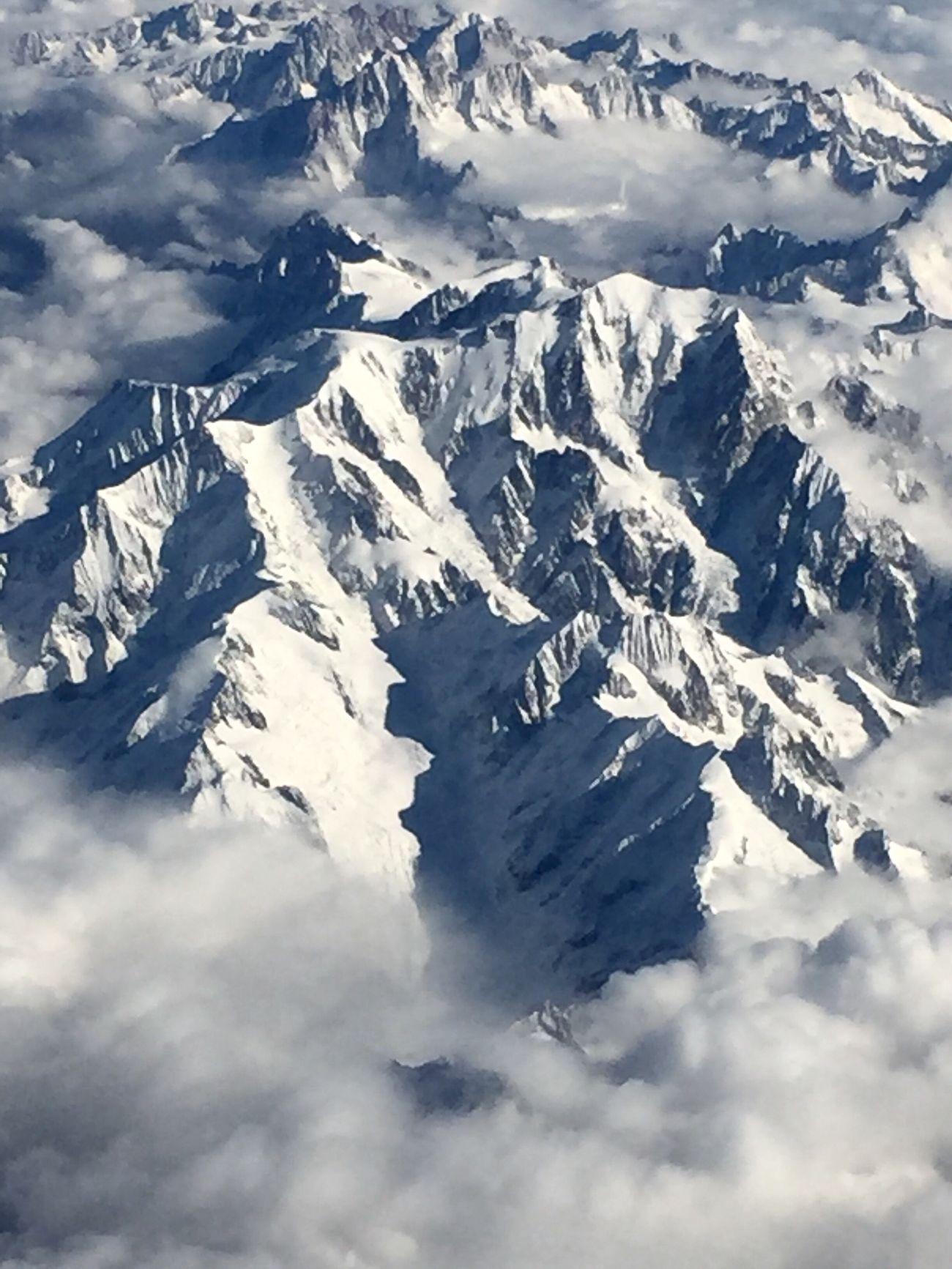 Mountain Snow Landscape Winter Mountain Range Alps Mountains