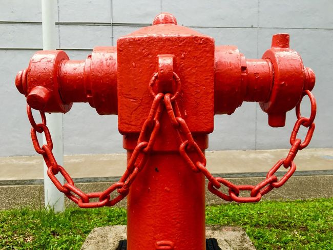 Fire hydrant in Singapore Bold Red Bold And Red Fire Hydrants  Fire Hydrant Water Hose For Firemen Something Red Solid Red Bold Bold Red