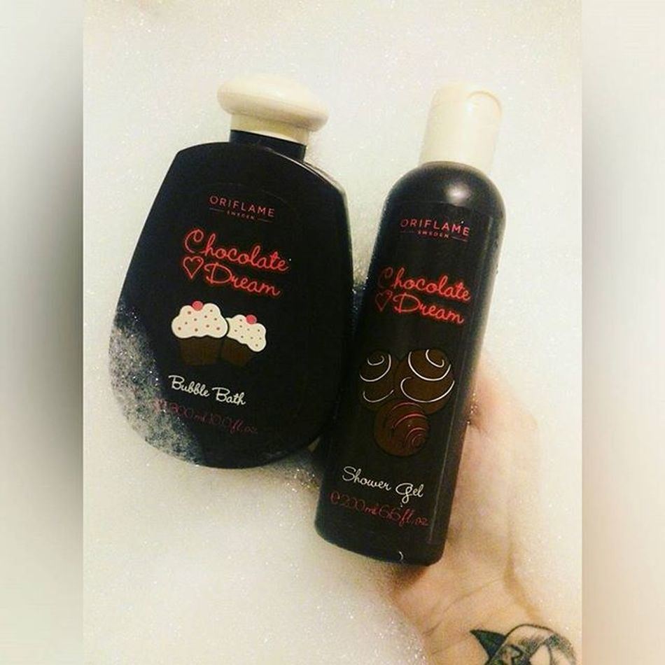 шоколадноенаслаждение жалкочтонееда Chocolatedream Bubblebath  Showergel Tattoo Oriflame пена Minsk2015 Like4likes