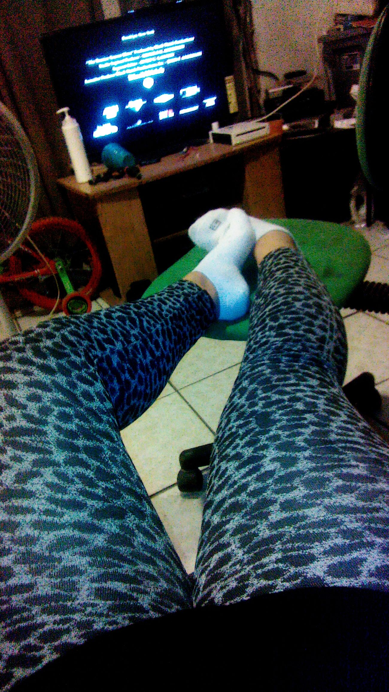 My Leggings :) My Ugly Legs I M Fat