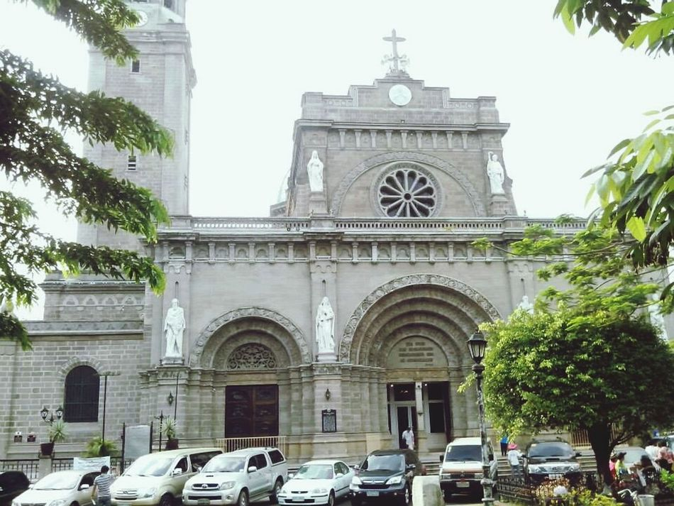 5MP Alcatel One Touch 5021E Churches Mobile Photography Manila Cathedral Biking By… Intramuros