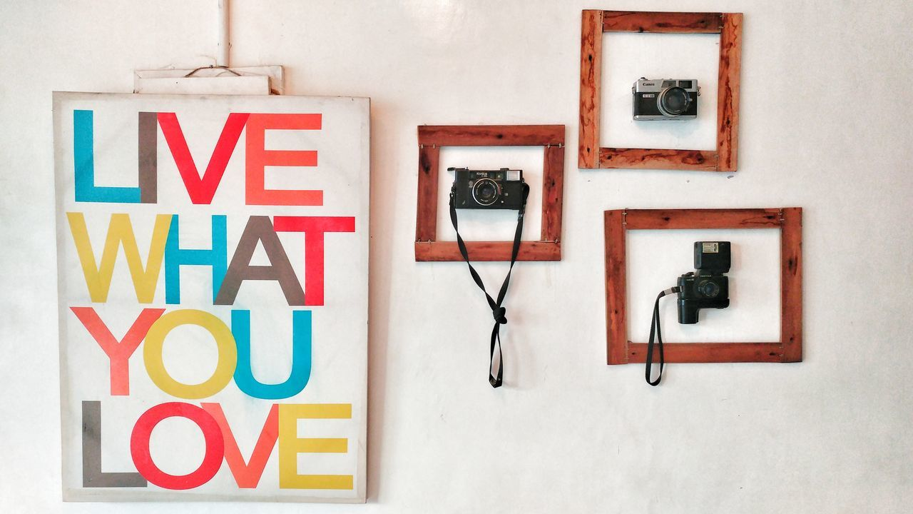 Love what you have. 10.2016 General Santos City South Cotobato Philippines Indoors  Cameras Old Cameras Film Cameras Live Love Live And Love Coffee Fat Love