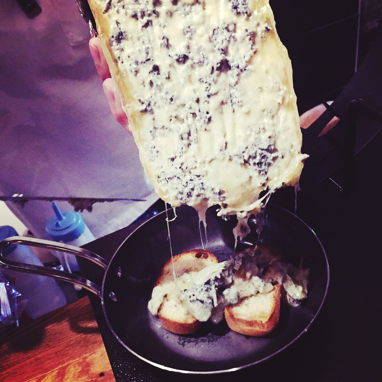 Blue cheese Raclette