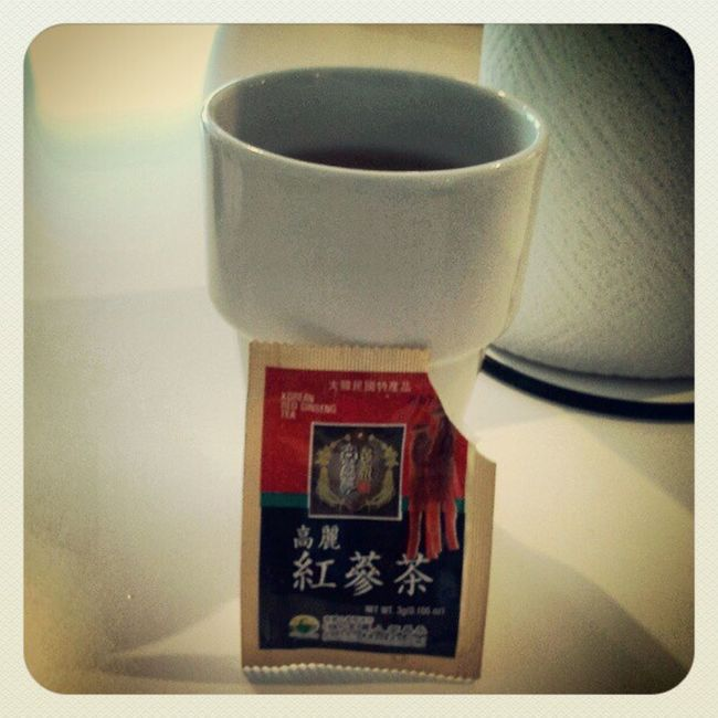 Energy tea from my Thai friend Ginseng Tea Healthy