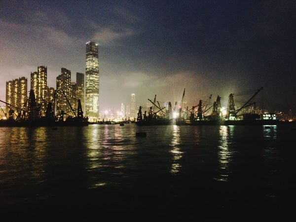 Just another ordinary HK harbour night scene Nightphotography Night Lights Harbor Scenics Cityscape Night City Architecture Built Structure Urban Skyline Sky Illuminated Sea Water Skyscraper Development Outdoors Cloud - Sky Reflection Urbanphotography Urban Landscape Nautical Vessel Light And Shadow Colors Of The Night Depth Of Field