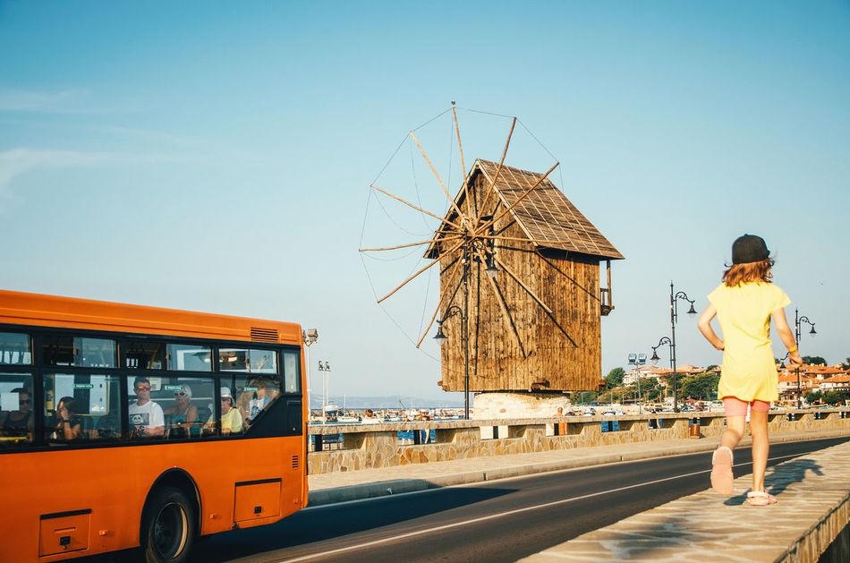 Beautiful stock photos of transport, Bulgaria, Bus, Childhood, Children