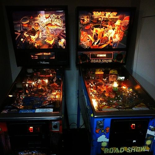Pinball machines, Nostalgia -Inducing Relics of a bygone era...