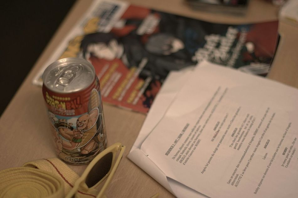 My Desk Composition Scenario Cinematography Filmmaker I Love My Job! Action Shot  Manga