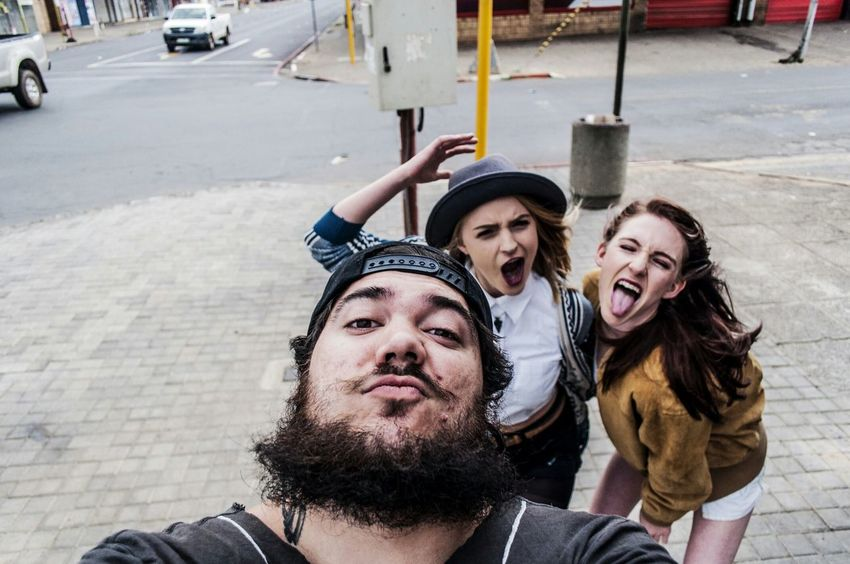 Beardlife Beards Hipstergirl Selfie Marius Bester Streetphotography Pretoria South Africa Living Large ✊ The Human Condition