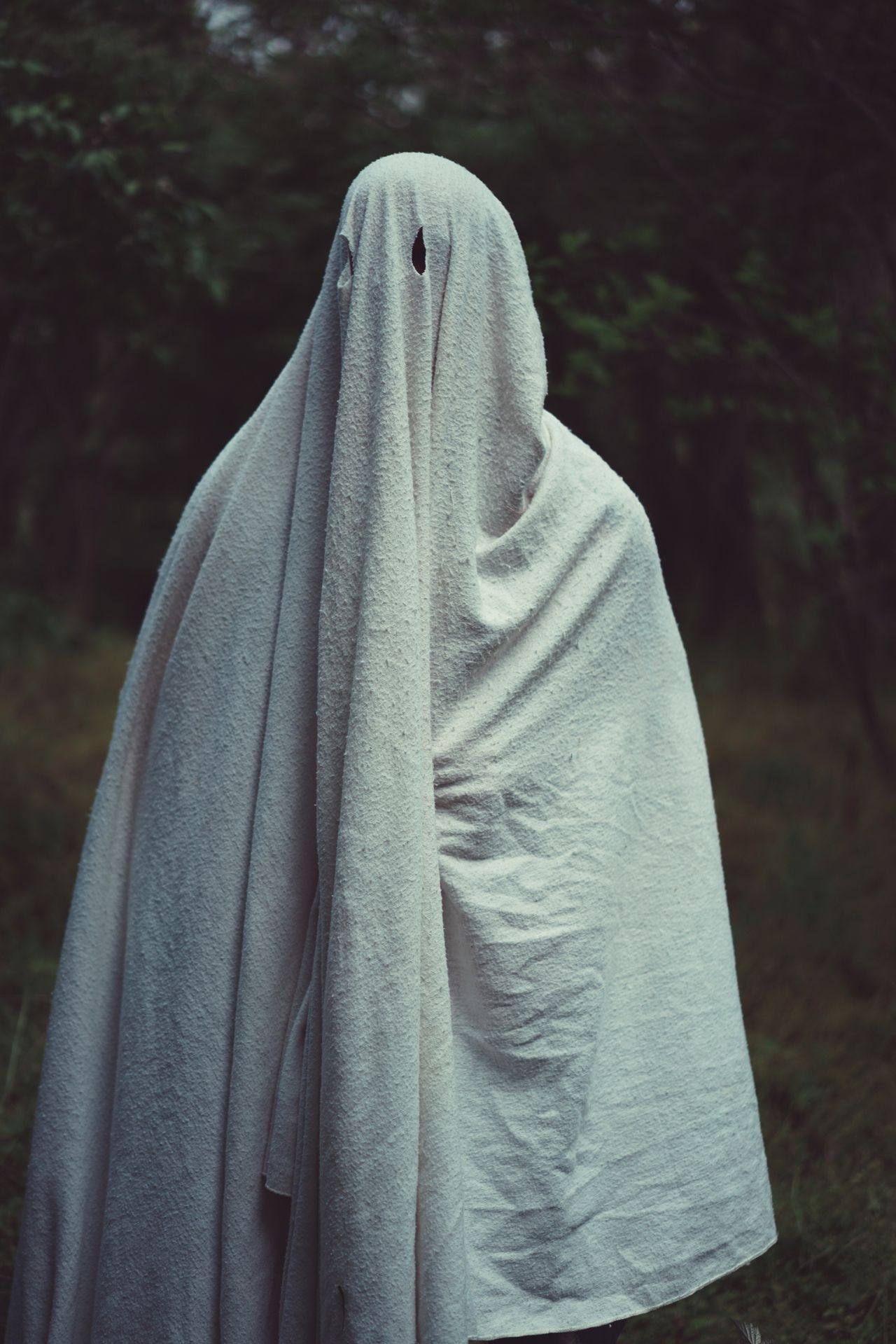 Towel Textile Focus On Foreground Day No People Outdoors Close-up Ghost Creepy Halloween