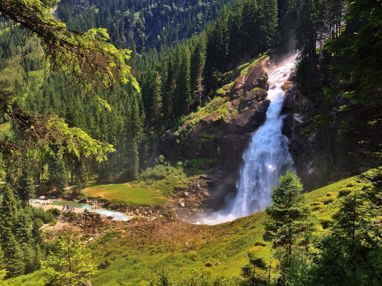 Krimmler Wasserfälle Krimmler Krimml Wasserfall Österreich Austria Waterfall Waterfalls Water National Nationalpark HoheTauern Wandern