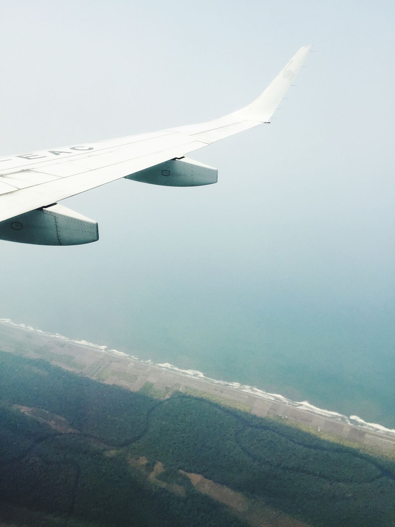 Beach Sky Flying