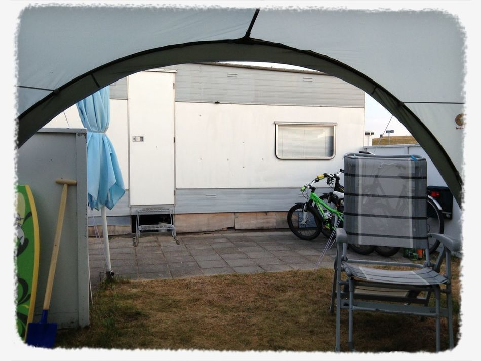 our old holiday caravan - my be it's last holiday season