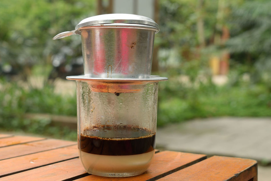 Drink Freshness Drinking Glass Food And Drink Focus On Foreground Preparation  Close-up Refreshment Table Lifestyles Healthy Eating Convenience Food Day Nature Outdoors Ready-to-eat Coffee Vietnam Coffee Time Coffee Vietnamese Coffee Vietnam Travel Vietnam Trip Enjoying Life Travel Destinations Freshness