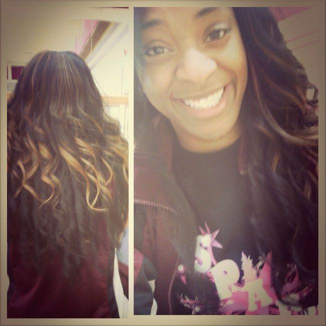 Best Friend Did My Hair♥