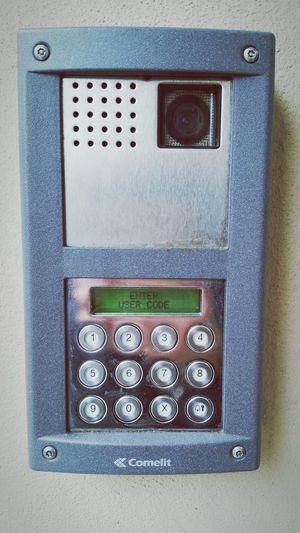 Lock Intercom Buttons Code